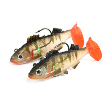 9cm19g package lead fish sea fishing bait bionic Lure  lure
