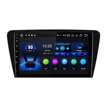 EBILAEN Auto DVD-Multimedia-Player Für Skoda Octavia A7 III 3 2014-2018 1din Android 10,0 Radio Auto Navigation GPS Hinten Kamera