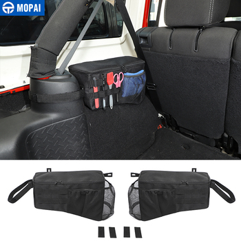 MOPAI Stowing Tidying for Jeep Wrangler JK Car Tail Box Trunk Side Storage Bag Accessores for Jeep Wrangler JK 2007-2017 4 Door car air filter for 2014 jeep wrangler 2 8td diesel wrangler 2 8 diesel wrangler iii jk 53034019ad