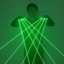 Laser-Gloves Led-Light Flash-Finger Dance Green Nightclub DJ Bar Party