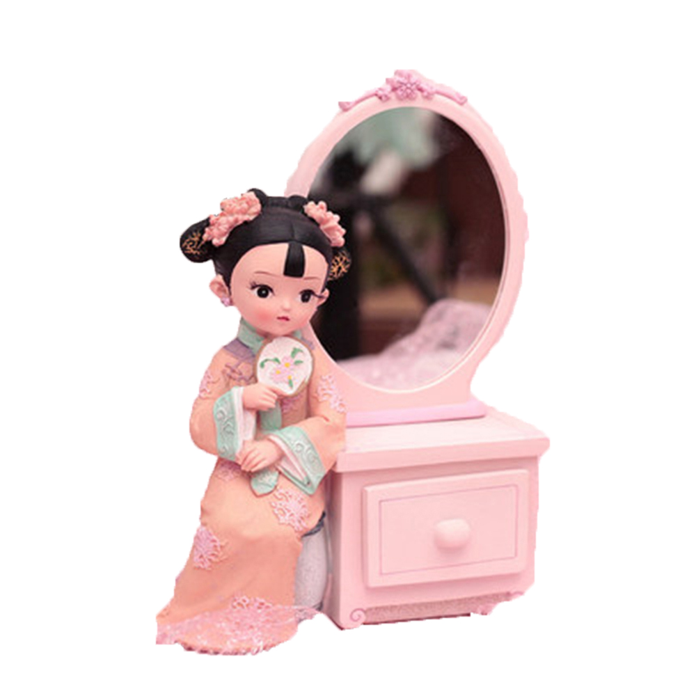 Forbidden City doll sigged Chinese characteristics gift doll slew pieces Beijing characteristic gift antique puppet