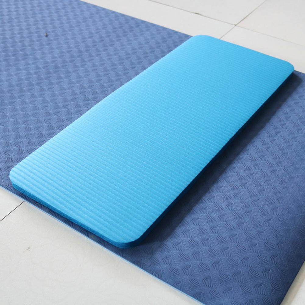 Yoga Mat Thick NBR Yoga Pad for Workout Training Abdominal Exercise 19