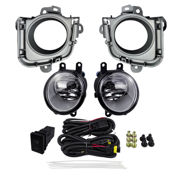 Automobile Fog Lamp for TOYOTA PRIUS 2010 2012 Car Light 4300K Yellow 12V 55W ABS Plastic Running Lights Accessories Styling