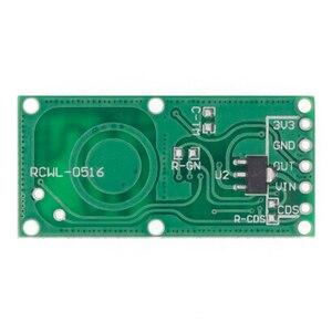 Image 2 - 50 Pz/lotto RCWL 0516 Interruttore di Induzione Del Corpo Umano Modulo Del Sensore Radar a Microonde Modulo Sensore Intelligente