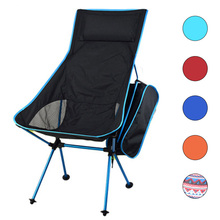 HooRu Lightweight Portable Chair Beach Fishing Folding Backrest Chair Outdoor Backpacking Camping Garden Chairs with Carry Bag cheap Plastic FOLDING CHAIR 104x40x43cm 40 9x15 7x 16 9 Indian style 107x59x42cm 42 1x23 2x16 5 Beach Chair H025 Outdoor Furniture