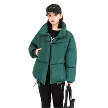 Stand Collar 2019 New Fashion Winter Jacket Women Cotton Padded Warm Thicken Womens Coat Outwear Fenale Parkas Coat Femme цены онлайн