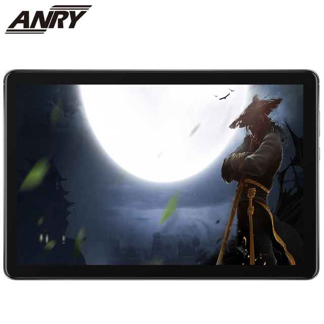 ANRY New Original Android 8.1 10 inch Tablet Pc 4G Phone Call Google Market GPS WiFi FM Bluetooth 10.1 Phablet