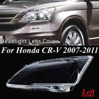 Car Headlight Headlamp Clear Lens Auto Shell Cover For Honda CRV 2007 2008 2009 2010 2011 Left Right Transparent Front Lamp Hood