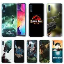 Dünya Jurassic Park samsung kılıfı Galaxy A50 A20 e A70 A80 A60 A40 A30 A10 s A9 A7 A8 A6 Artı 2018 Silikon Telefon Kapak Coque