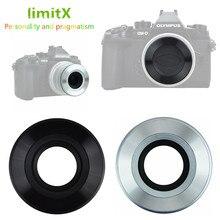 Tapa de lente automática para Panasonic Lumix GX9 GF10 GF90 GF9 GX800 GX850 GF8 GF7 GX80 GX85 GM5 GM1 cámara con lente de 12 32mm