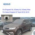 Yessun система парковки камера заднего вида для Emgrand NL-3 Atlas Geely Emgrand X7 Sport 2016 ~ 2019 светильник номерного знака