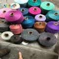 500 г/лот пряжа для вязания крючком металлик + хлопок металлизированная пленка нитки для ручного вязания пряжа для вязания крючком и matethreads DIY ...