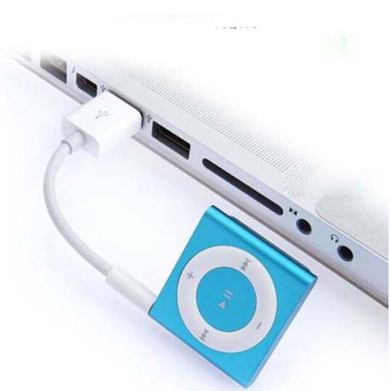 3.5mm Jack to USB 2.0 Data Sync Charger Transfer Audio Adapter Cable cord for Apple iPod Shuffle 3rd 4th 5th 6th(China)