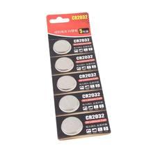 5 Pcs 3V Células de Lítio Coin Botão Bateria Placa ECR2032 CR2032 5004LC KCR2032 B85B