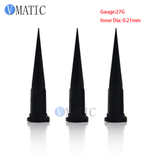 High Quality 100pcs 27G TT Glue Dispensing Tapered Tips Needles