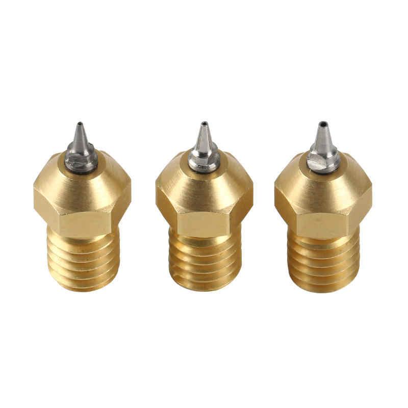 Zamtac 3D Printer Lulzbot Budasch Nozzle Hotend V2.0 1.75//3.0mm+0.2//0.3//0.4//0.5mm Nozzle Size: 1 75mm0 4mm