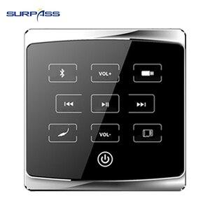 Image 1 - Casa mini bluetooth Audio in Parete pa amplificatore smart centro musicale Stereo sistema di Amplificazione del suono Hotel bluetooth fm usb sd lettore