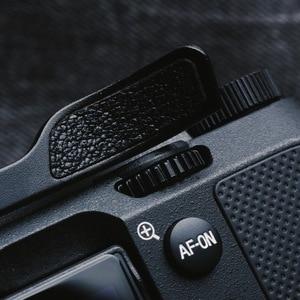 Image 4 - مسند الإبهام المعدني لسوني A7C ، مع ملصق جلدي ، غطاء حذاء ساخن