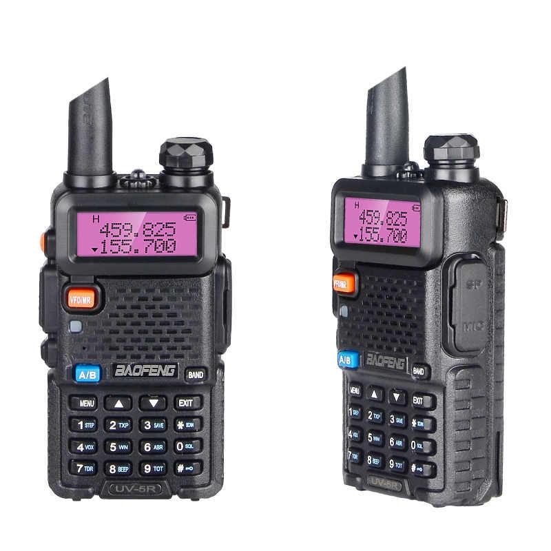 Krachtige Baofeng UV-5R 8W Walkie Talkie Vhf Uhf Transceiver Uv 5R Amateur Ham Cb Radio Station 8Watt 10km Jacht Zender