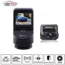 Câmera de ré automotiva, lente dupla, 4k, ultra hd, wifi, t691c, 2160p, 60fps, adas, dvr, com 1080p, sony câmera traseira com sensor de visão noturna, gps