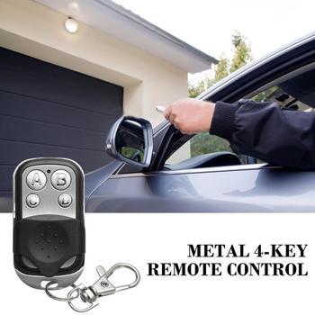 433Mhz Radio bezprzewodowe częstotliwości zdalnego sterowania metalu 4-kluczyk z pilotem zdalnego sterowania Ev1527 kod nauki bezprzewodowy pilot zdalnego sterowania tanie i dobre opinie CN (pochodzenie) Piloty black silver 12 (V) remote control DC12V 433MHz EV1527 (learning code) 4 keys ABCD (on off lock)