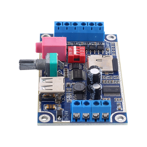 Image 5 - WAV MP3 音声モジュール 10 ワットサウンドプレイヤー DC 12 V 24 V プログラマブル制御サポート TF カード U  ディスク