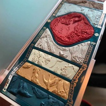 Eyeshadow Pigment Pallete Makeup-Palette Cosmetics Flower-West Beauty Glazed Handmade