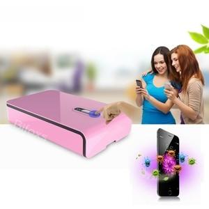 Image 2 - Uv Desinfecteren Ultraviolet Maskers Sterilisator Box Mobiele Telefoon Usb Opladen Desinfectie Cleaner Box BIW 18