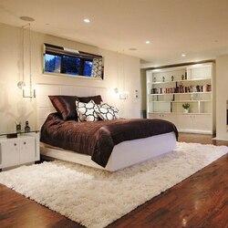 Dreamorn tapetes modernos sala de estar quarto área de veludo macio antiderrapante tapete (15 cores, 5 tamanhos)
