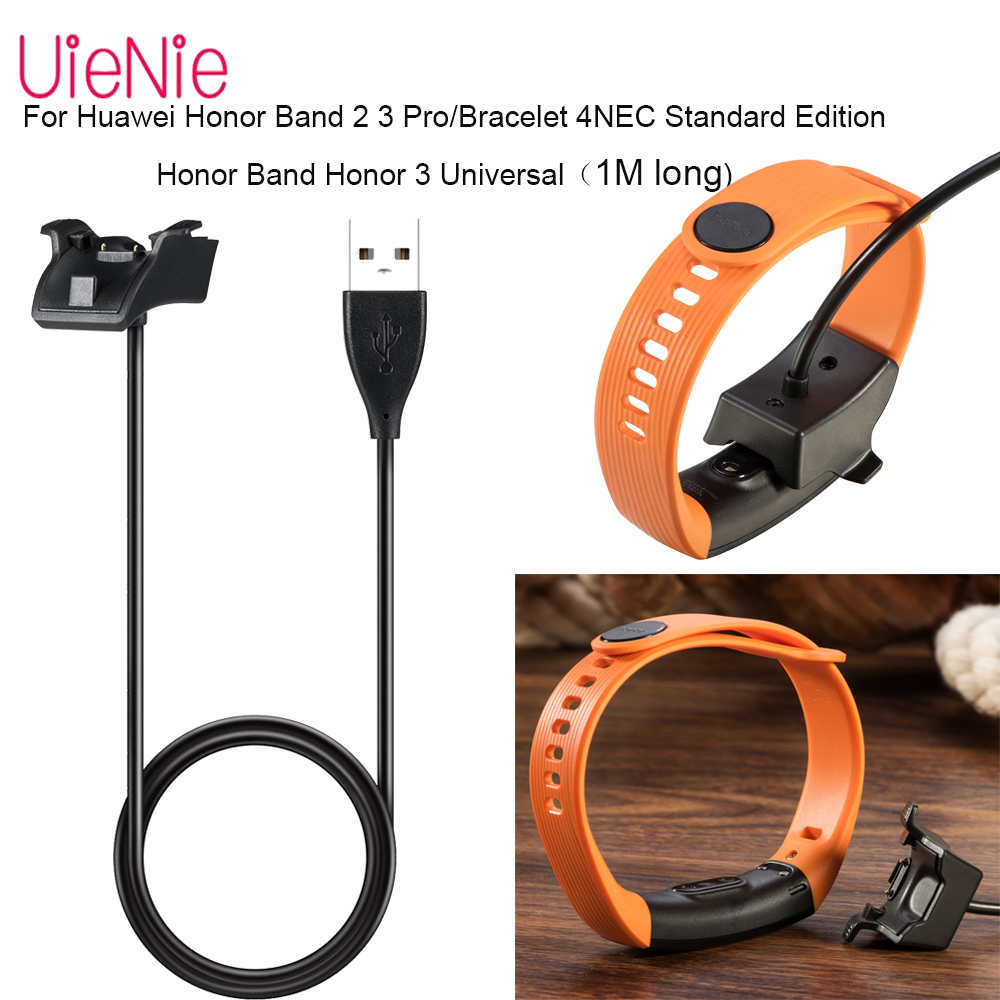 1m USB Fast Charging Cable For Honor 5 4 3 HuaweiBand B29 Charger Portable Charging Cable Set For Huawei band3/2 3 4 Pro Charger