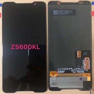 Image 2 - 2018 オリジナル amoled スクリーン asus ROG 電話 Zs600kl z01QD Lcd ディスプレイタッチスクリーンデジタイザアセンブリの交換スペアパーツ