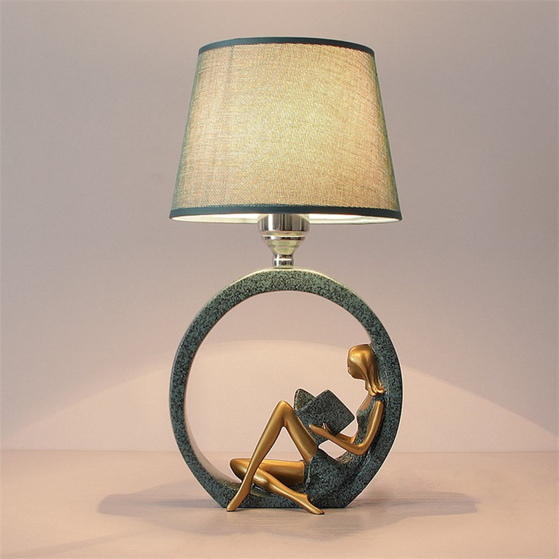 Simple Modern Bedroom Table Lamp Bedside Lamps Reading Table Light for  Living Room Home Art Deco Table Lanterns Nightstand Lamp