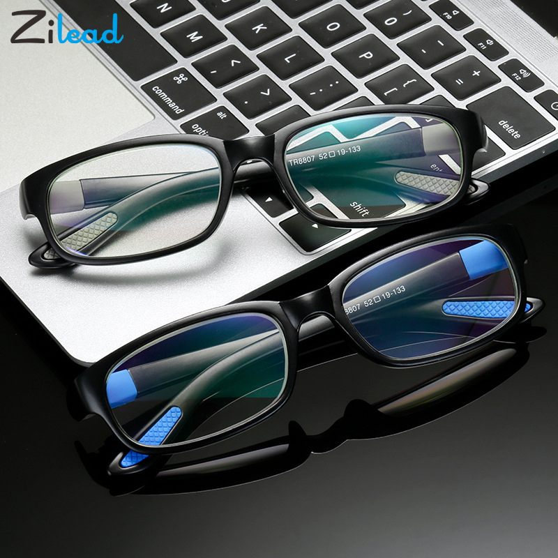 Zilead Men Women Retro Anti Blue Rays Presbyopic Eyeglasses Anti Fatigue Oculos For Parent Unbreakable Classical Reading Glasses