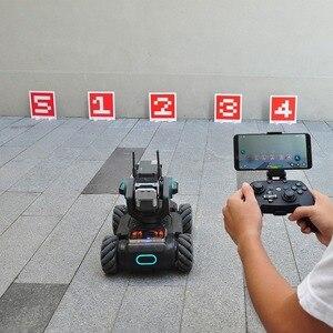 Image 4 - DJI Robomaster S1 Robot télécommande sans fil manette avec clip support de téléphone manette poignée APP connecter pour RoboMaster