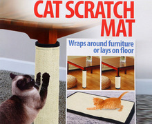 Cat Scratching Post Mat For Cats Natural Sisal Protecting Furniture Foot Chair Protector Pad Climbing Tree cat Scratch Pad Board cat tree with sisal scratching post 95 cm