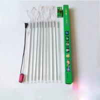 10pcs/set LED Meteor Shower Rain Tubes Christmas Decorative Lights 80cm Smd2835 72leds/pc 9w LED String Light Ac85 265V