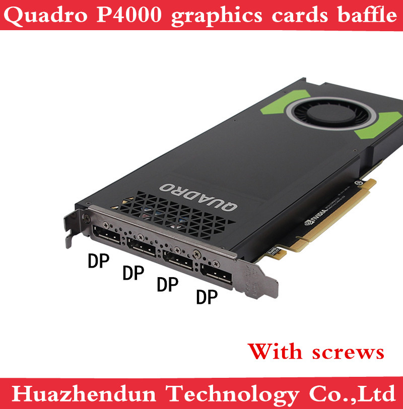 Brand New Original Quadro P4000 8GB Professional Graphics Card Blank Spot Baffle 1pcs