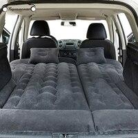 Colchão de carro inflável suv carro inflável multifuncional carro cama inflável acessórios do carro cama inflável viagem bens|Cama de viagem p/ carro| |  -