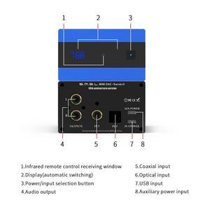 Image 5 - SMSL sanskryt 10th MKII HiFi Audio DAC USB AK4493 DSD512 XMOS optyczne Spdif koncentryczne wejście DAC dekoder pulpitu