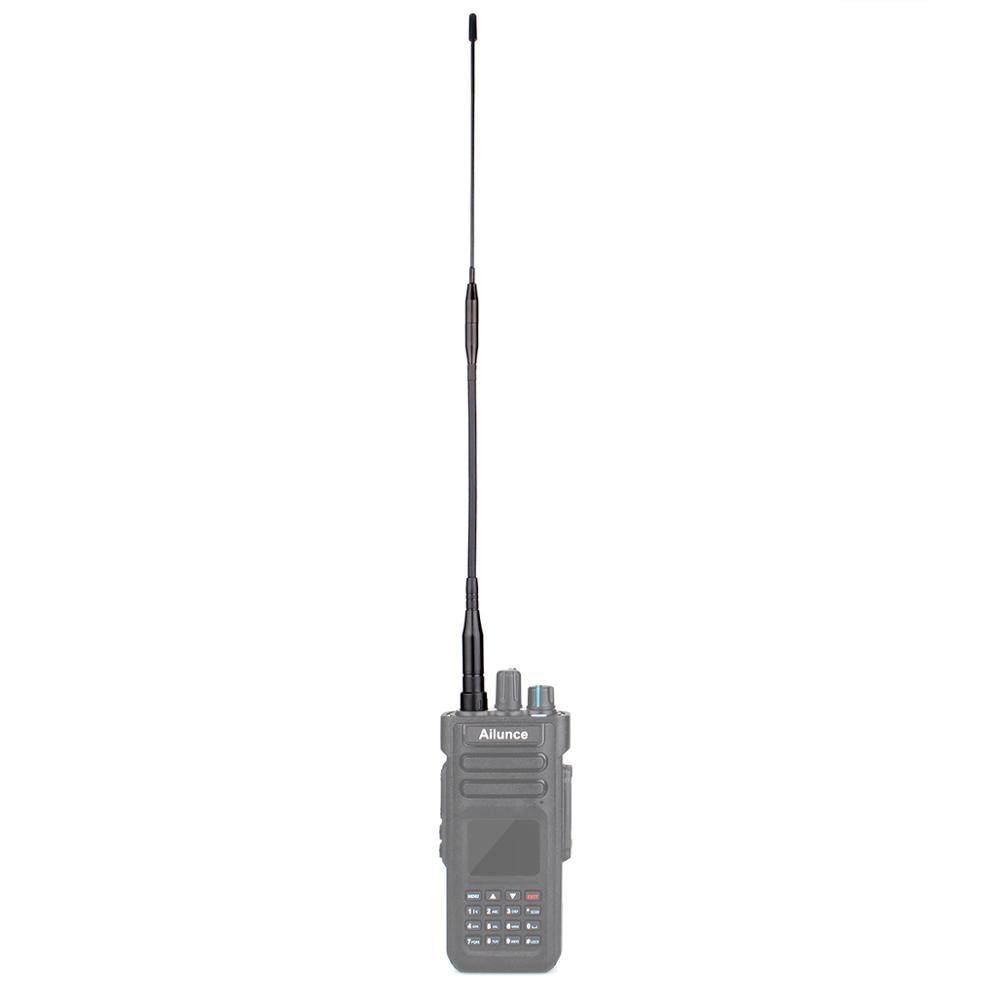 Dual Band SMA-F High Gain Long Antenna VHF/UHF 360mm for Ailunce HD1/Retevis RT29 DMR Ham Radio Amador Walkie Talkie