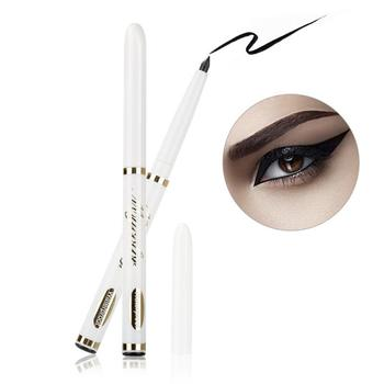Classic Black Eyeliner Telescopic Waterproof Durable Automatically Rotate Eyebrow Pencil Eyeliner Beauty Tool Makeup Lady TSLM1