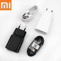 Chargeur rapide d'origine Xiao mi pocophone f1 18W EU 12v 1.5a quick QC 3.0 adaptateur de charge murale de voyage pour A3 A2 A1 mi 9 8 6 mi x 3 2s