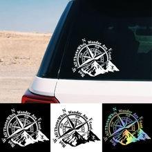 Модные автомобильные виниловые наклейки с изображением горного