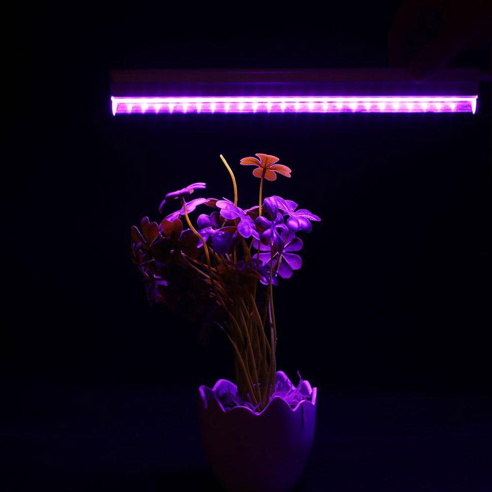 Plant Grow Light EU Plug Flower Greenhouse Vegetable LED Grow Light Professional Purple T5 Bloom Growth Premium Garden Indoor
