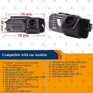 Image 2 - HD 1280x720p geri geri görüş kamerası dikiz kamera VW Bora / VW Amarok Golf MK5 /MK6/beetle/Leon 2/3 koltuk LEON