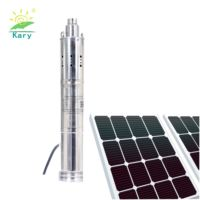 Kary 20m head DC 24v 36v solar submersible pump, 30PSI small size stainless steel water pump
