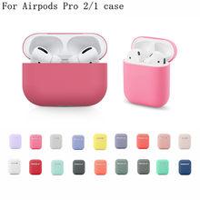 Airpod housses pour Airpods pro 3 étui mignon silicone souple Ultra-mince silicone sans fil étui pour écouteurs pour Apple airpods pro luxe