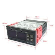 Цифровой регулятор температуры и влажности, 10000 А, термостат для домашнего холодильника, регулятор температуры, переключатель