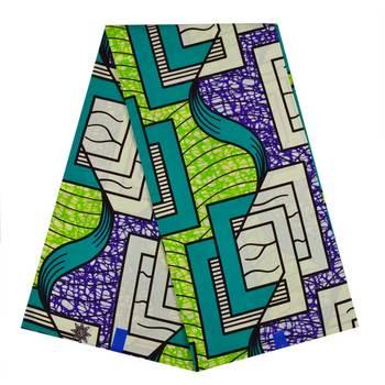 Ankara Fabric African Real Wax Print For Dress Cotton 2020 Ghana Pagne Wax Africain Clothing Loincloth African Ankara Fabric