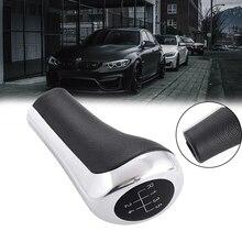Black Gloss Silver คู่มือ5 Speed เกียร์ MT Shifter Lever Shift Stick Knob สำหรับ BMW E30 E32 E36 E46 E39 e34 Z3